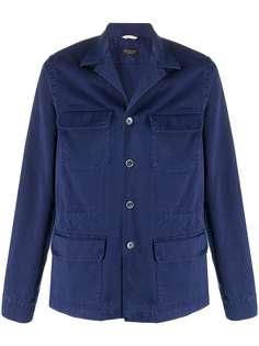 Delloglio куртка-рубашка с карманами Dell'oglio