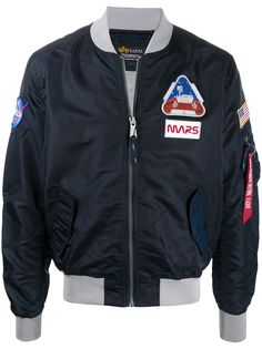 Alpha Industries бомбер Ma-1 LW Mission To Mars