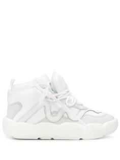 Off-White высокие кроссовки