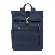 Рюкзак унисекс Piquadro Bios CA4451BIO/BLU синий нейлон