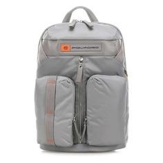 Рюкзак унисекс Piquadro Bios CA5038BIO/GR серый нейлон