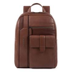 Рюкзак Piquadro Kobe CA4943S105/TM темно-коричневый натур.кожа