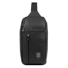 Рюкзак унисекс Piquadro Acron CA5107AO/N черный натур.кожа
