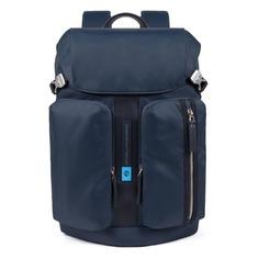 Рюкзак унисекс Piquadro Bios CA5039BIO/BLU синий нейлон