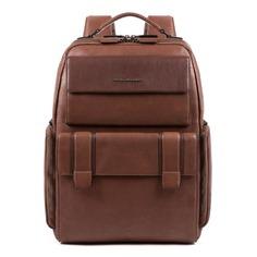 Рюкзак Piquadro Kobe CA4942S105/TM темно-коричневый натур.кожа