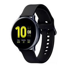 """Смарт-часы SAMSUNG Galaxy Watch Active2, 44мм, 1.4"""", черный / черный [sm-r820nzkrser]"""