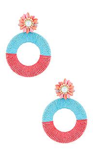 Серьги-кольца acapulco - Maryjane Claverol