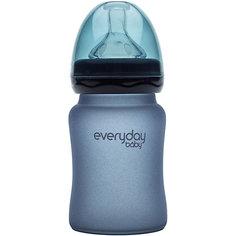 Бутылочка для кормления EveryDay Baby 150 мл, с индикатором температуры
