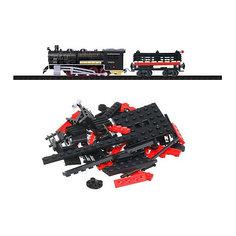 Железная дорога-конструктор Taigen, 120 деталей