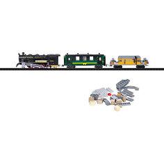 Железная дорога-конструктор Taigen, 350 деталей