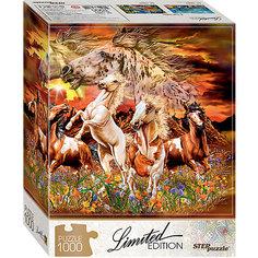 "Мозаика ""puzzle"" 1000 ""Найди 16 лошадей"" (Limited Edition) Степ пазл"