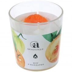 Ароматизированная свеча «Юзу и мандарин»