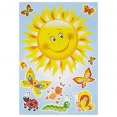 Наклейка «Румяное солнышко» Декоретто XL