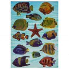 Наклейка «Рыбы Красного моря» Декоретто L