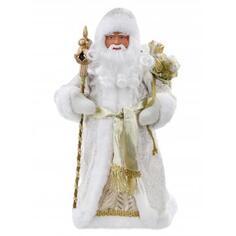 Фигурка «Дед Мороз» 41 см, цвет золотой