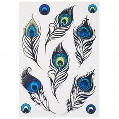 Наклейка «Роскошные перья» Декоретто