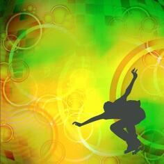 Фотообои флизелиновые «Скейт» 200х200 см