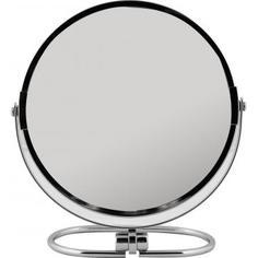 Зеркало косметическое настольное с увеличением 17 см TWO Dolfins