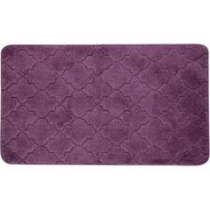 Коврик для ванной «Лана» 70х120 см цвет фиолетовый Bath Plus