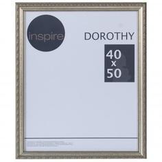 """Рамка Inspire """"Dorothy"""" цвет серебряный размер 40х50"""