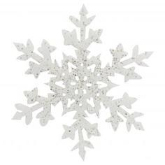 Украшение «Снежинка» 25 см