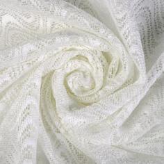 Тюль «Волна» сетка 280 см цвет молочный