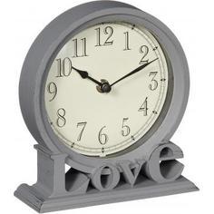 Часы настольные «Love», 19 см