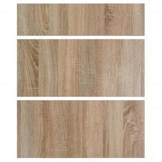Двери для шкафа Delinia «Вереск» 60x15 см, ЛДСП, цвет бежевый, 3 шт.