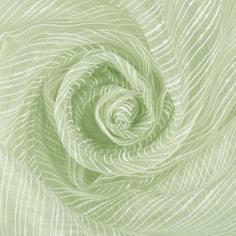 Тюль «Дождик» 1 п/м 280 см органза цвет зелёный