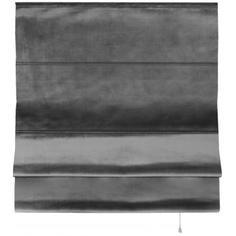 Штора римская Милфид 160x190 см цвет серый