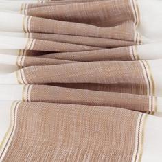 Тюль «Медан», 290 см, полоски, цвет терракот Daily by T
