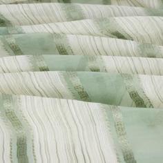 Тюль «Бруклин», 280 см, полоски, цвет зелёный Daily by T
