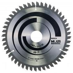 Диск пильный универсальный 180х30/20 мм Bosch Multimaterial 2608640507, 49 Т