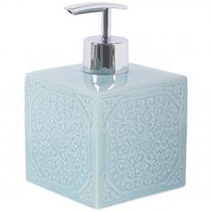 Дозатор для жидкого мыла настольный «Tiffany» керамика Swensa
