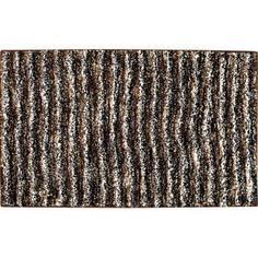 Коврик для ванной комнаты Cozy 50х80 см цвет серый Swensa