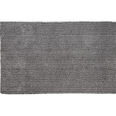 Коврик для ванной комнаты Ripple 50х80 см цвет серый Swensa
