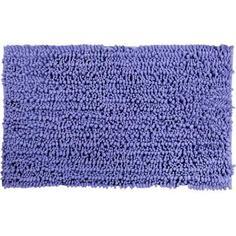 Коврик для ванной комнаты Molle 50х80 см цвет синий Swensa