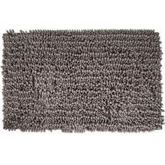Коврик для ванной комнаты Molle 50х80 см цвет серый Swensa