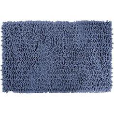 Коврик для ванной комнаты Molle 50х80 см цвет серый/голубой Swensa