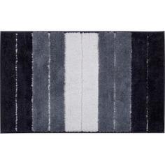 Коврик для ванной комнаты Heide 50х80 см цвет белый/чёрный Swensa
