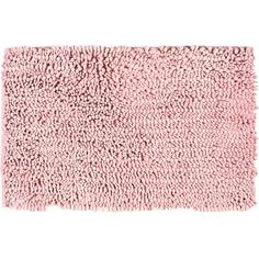 Коврик для ванной комнаты Molle 50х80 см цвет розовый Swensa