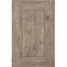 Дверь для шкафа Delinia ID «Руза» 15x77 см, ЛДСП, цвет коричневый