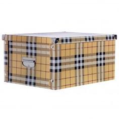 Коробка картон 45x35x22.5 см, клетка Storidea