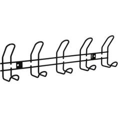 Вешалка настенная Sheffilton SHT-WH14-5 5 крючков, цвет чёрный муар