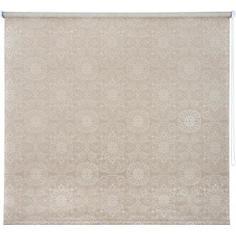 Штора рулонная «Мандала» 140х175 см, цвет бронзовый