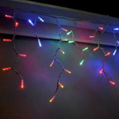 Электрогирлянда светодиодная «Бахрома» для улицы 96 ламп 3x0.6 м, цвет мультиколор
