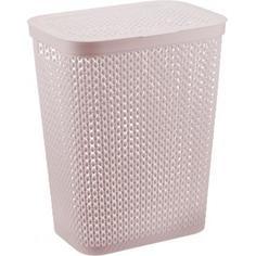 Корзина для белья «Пирула» цвет розовый Idea