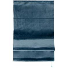 Штора римская Милфид 100x175 см цвет синий