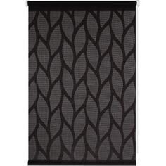Штора рулонная Bella 50x160 см, цвет чёрный
