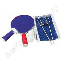 Набор для настольного тенниса atemi 2 ракетки, 3 мяча, сетка atr-100 00000136487